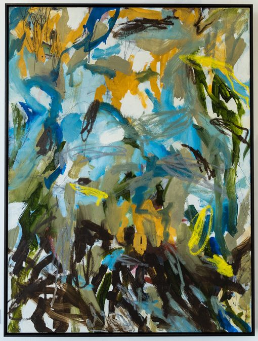 The heaving sea - Abstract Art by Felicity O'Connor