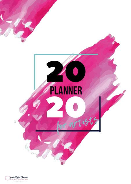 2020 Artist Planner