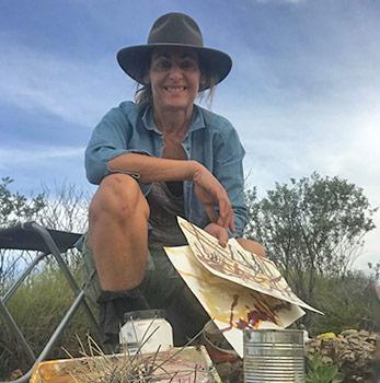Abstract Landscape Artist Australia - Felicity O'Connor