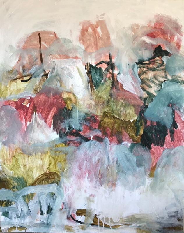 - Acrylic on canvas