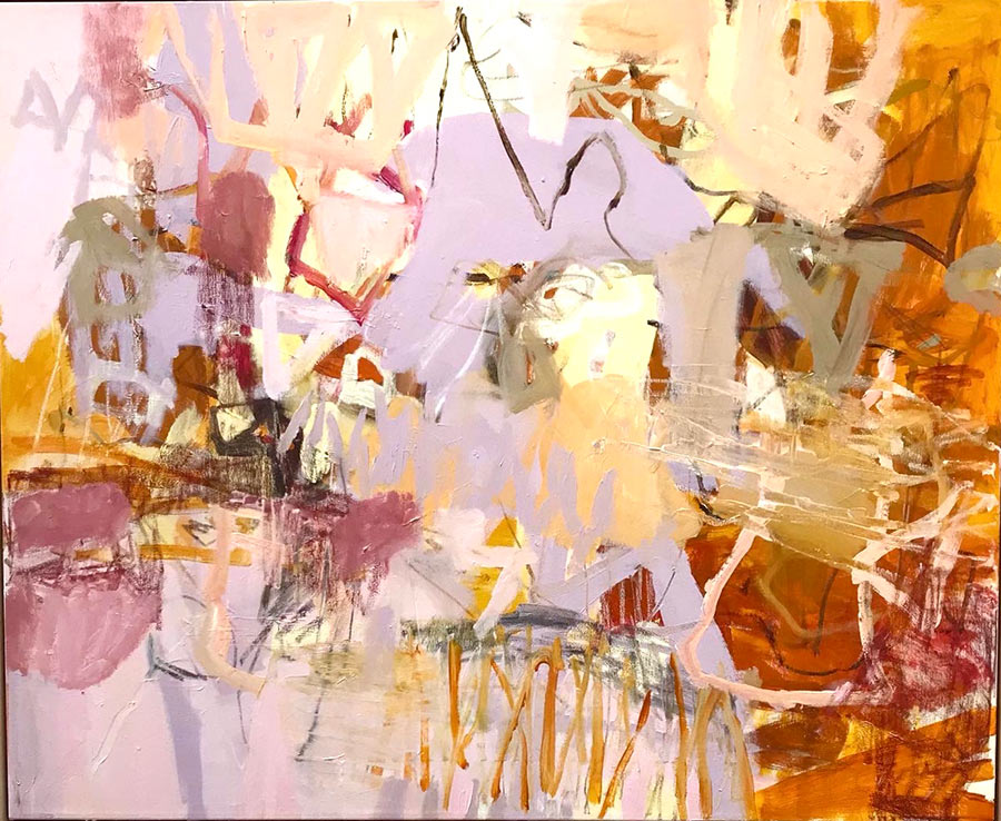 Unknown Places - Abstract Landscape Artist Felicity O'Connor
