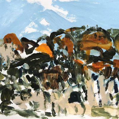 Desert Daze - Landscape Artist -