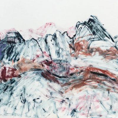 Desert Heart Beats - Works on paper - Landscape Artist